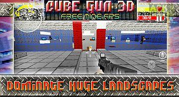 Cube gun 3d - free mine fps