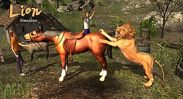 Lion simulator 3d adventure