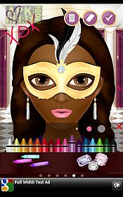 mask makeup game for girls