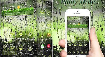 Rainy water drops