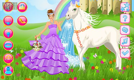 princess and her magic horse