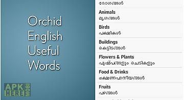 English malayalam useful words
