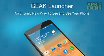 Geak launcher-easy fast power