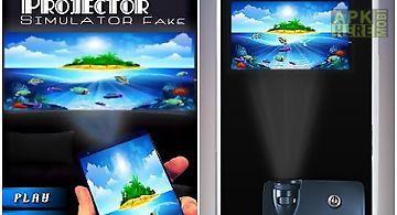 Video projector simulator fake