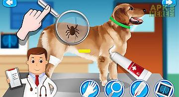 Pet vet doctor animal hospital