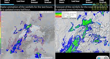 Myradar weather radar for Android free download at Apk Here