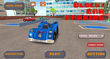 Blocky car parking