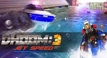 Dhoom: 3 jet speed