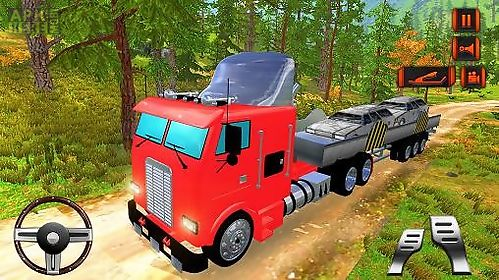 off road hill drive: cargo truck