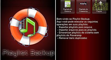 Playlist backup