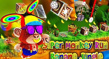 Super monkey run banana jungle