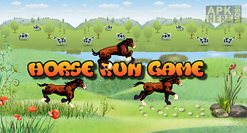 Horse run casual action game fre..