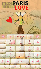 paris love go keyboard