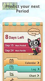 period tracker, my calendar