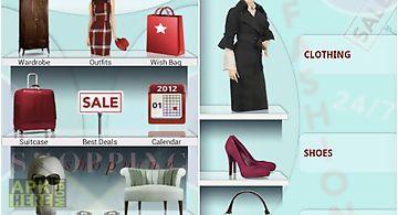 Stylish girl - fashion closet