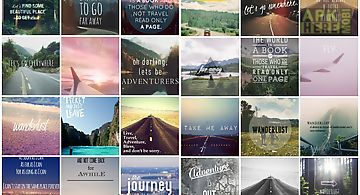 Travel quote wallpapers