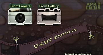 V-cut express trial