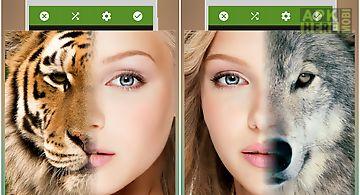 Face blender:funny morphface