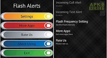 Flash alerts free