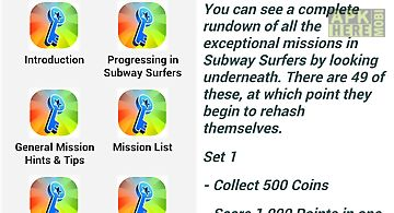 Guidefor subway surfers