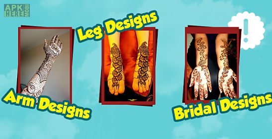 Mehndi App For Android : New mehndi henna designs for android free download at apk here
