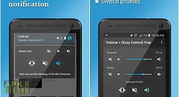 Volume + (easy control)free