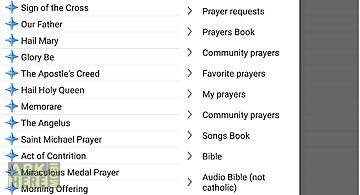 Catholic prayers & bible
