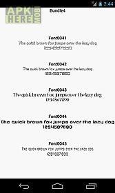 fonts for flipfont 4