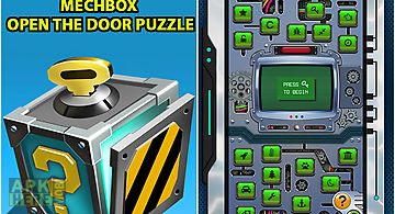 Mechbox: open the door puzzle