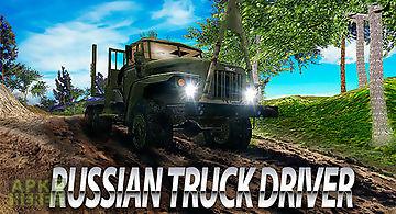 Russian truck driver simulator