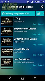 Sing karaoke for Android free download at Apk Here store - Apktidy com