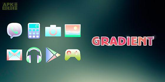 gradient - solo theme
