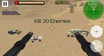 Helicopter desert action