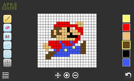 Isopix pixel art editor for android free download at apk for Online drawing editor