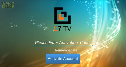 L7 iptv for Android free download at Apk Here store - Apktidy com