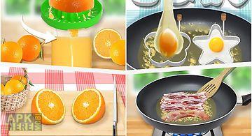 Make breakfast: food game