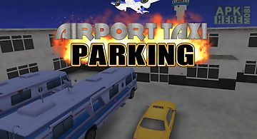 Airport 3d taxi parking