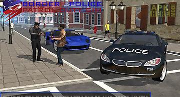 Border police patrol duty sim