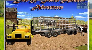 Farm transport: zoo animals