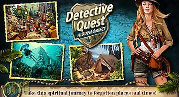 Hidden object detective quest