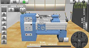 Lathe worker:machine simulator
