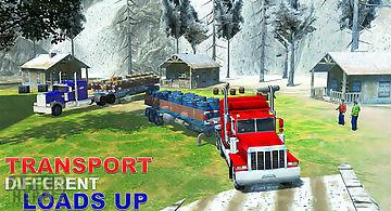 Offroad snow truck transporter
