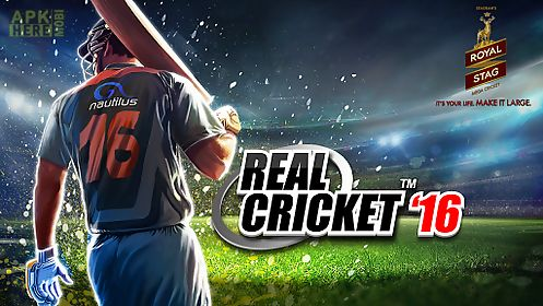 Real cricket ™ 16 for Android free download at Apk Here