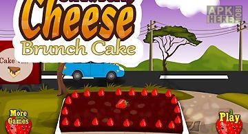 Cheese cake maker - kids game