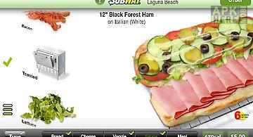 Subway ordering for california