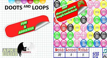 Doodle dots and loops rush