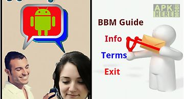 Bbm tips for Android free download at Apk Here store