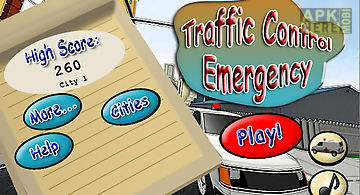 Traffic control emergency