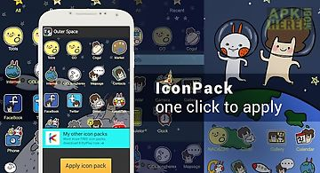 Icon pack -outer space(free)