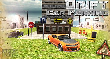 3d city drift car parking